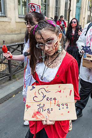 /Zombie Walk 2016 à Paris